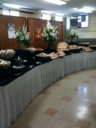 full service buffet catering berkley ma